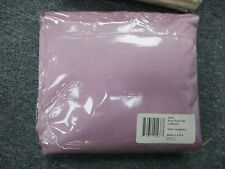 SILKY SOFT Satin 4 piece  KING Sheet Set Polyester LAVENDER BEAUTIFUL
