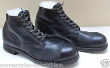 1951 USN Deck US Navy Black Leather 3/4 Boots size 15 AAA =EU 49.5 pair M9001