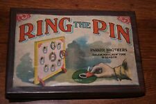 VINTAGE PARKER BROTHERS RING the PIN GAME in ORIGINAL BOX