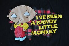 T-SHIRT 2XXLARGE FAMILY GUY TELEVISION CARTOON STEWIE IVE BEEN A BAWDY LITTLE