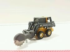 1/64 ERTL CUSTOM FARM TOY JOHN DEERE 320E SKID STEER LOADER WITH STUMP GRINDER