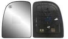 2000-2005 FORD Excursion Driver Side Heated Power Mirror Glass w/Backing Plate