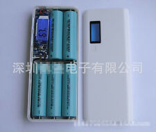 Dual 2 USB 2A Power Bank Case Kit 5x18650 Battery Fast Charger DIY Box For Phone