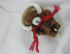 Avon Plush Puppy Christmas Tree Ornament 1984 - Out of Package