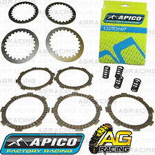 Apico Clutch Kit Steel Friction Plates & Springs For Honda CR 80 1987-2002 87-02
