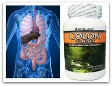 3x dell'intestino Colon Detergente Pillole Flush Disintossicante Ibs parassiti dell'apparato digerente purificare Tablet