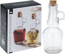 250ml Vetro Olio e Aceto Set Medicazione versatore Condimento bottiglie con manici