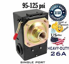HEAVY DUTY Pressure Switch for Air Compressor 95-125psi SINGLE PORT 26A/unloader