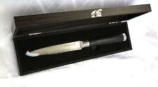 Allzweckmesser AKIRA Damastmesser JAPANESE STEEL Küchenmesser HERDMEISTER 12 cm