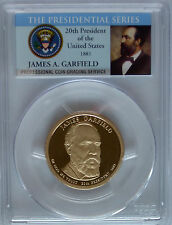 PCGS 2011-S Proof JAMES GARFIELD 20th Presidential Dollar PR69 USA Mint Series *