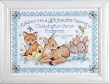 Design Works-Tobin BABY-BOSCHI BABY campionatore CROSS STITCH KIT (2431)