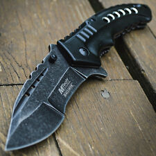 "9"" SPRING ASSISTED OPEN Tactical Blade Folding POCKET KNIFE Switch Steampunk"
