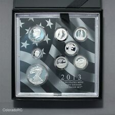 2013 Limited Edition United States Silver Proof Set