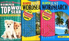 Wordsearch Books - 3 Book set - Over 300 Puzzles - New (Set 2)