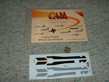 CAM  decals 1/48 General Purpose military aircraft decals  F58