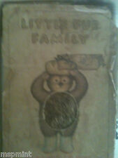 THE LITTLE FUR FAMILY BOOK MARGARET WISE BROWN 1946 RABBIT COVER BOX RARE