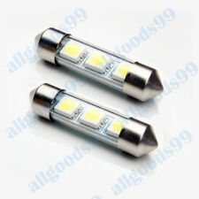 2x Ford Focus MK2 (05-07) 3xSMD Number Plate Bulbs