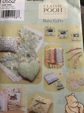 Simplicity Baby Gift Patterns, Winnie The Pooh Classics