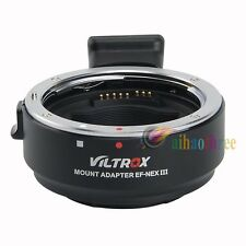VILTROX EF-NEXIII Lens Adapter For Canon EF/EF-S Lens to Sony E-Mount Camera【AU】