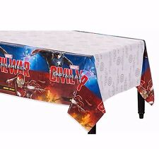 Captain America CIVIL WAR Plastic Table Cover Birthday Party Decorations Supply