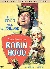 The Adventures of Robin Hood (DVD, 2003, 2-Disc Set, Special Edition) VG%