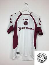 HEARTS 06/07 Away Football Shirt (S) Soccer Jersey Hummel