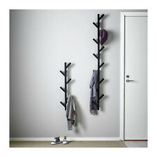 Ikea TJUSIG Wall Hanger Hat Rack Coat Rack BLACK Tree Branch Style Modern Kids