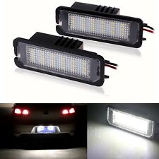 2PCS Error free 24 LED Number License Plate Light For VW GOLF MK4 MK5 MK6 PASSAT