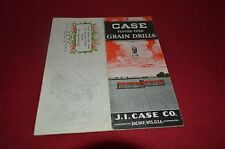 Case Tractor Fluted Feed Grain Drills Dealer's Brochure AMIL8