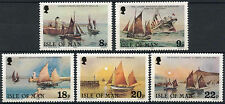 Isle Of Man 1981 SG#190-4 Fishermen Ships MNH Set #D3487