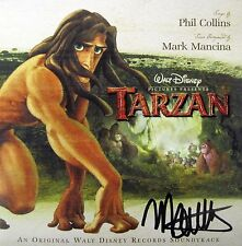TARZAN (1999) Disney CD SOUNDTRACK Score + Songs AUTOGRAPHED BY MARK MANCINA NEW