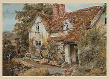 Cross stitch chart-country cottage nº 130 gratuit uk p&p. TSG37...