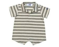 Oshkosh B'gosh Romper with Collar Stripes RWC 12 Size 24 months