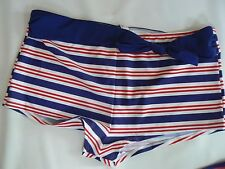 RESORT Boyshorts Bikini Bottoms /Briefs Size 24  NEW