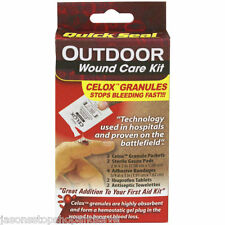 NEW Outdoor Wound Care Kit Celox Granules Blood Clot Quick First Aid Package