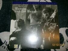 Beauty and the Beast Criterion Laserdisc LD Free Ship $30 Orders