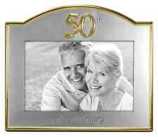 Wedding 50th Golden Anniversary Photo Picture Frame Gift Party Celebration .