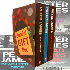 Roy Grace Series Collection 3 Books Gift Wrapped Slipcase By PeterJames Paperbac