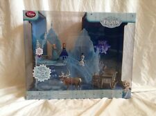 New In Box Disney Store Frozen Musical Ice Castle Palace Playset Anna Elsa Olaf