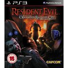 Resident Evil Operation Raccoon City Game PS3 Brand New