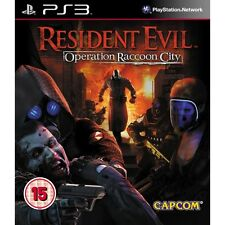 Resident EVIL OPERATION RACCOON CITY GIOCO PS3 Nuovo di Zecca