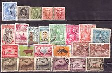 Ecuador (South America)-25 Diff. Used Good Condition Older Issue Stamps #F24A