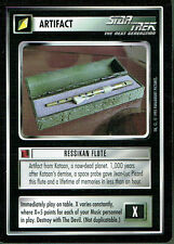 STAR TREK CCG ALTERNATE UNIVERSE RARE CARD RESSIKAN FLUTE