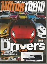 Motor Trend November 2013 Best Driver's Cars/Truck, SUV, Van Buyer Guide