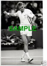 ORIGINAL SPORTS PRESS PHOTO - TENNIS STAR JAKOB HLASEK SWITZERLAND - 1980'S