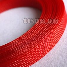 25mm High Densely Tight Braided PET Expandable Sleeving Cable Wire Sheath