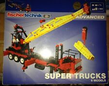 Fischertechnik Advanced-Supertrucks/6 Models