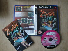Zombie Zone  PS2-PAL GAME Complete VGC