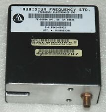 RUBIDIUM ATOMIC FREQUENCY STANDARD FE5650A OUTPUT 10MHz