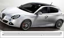 Alfa Romeo Guilietta side stripe pinstripe decals stickers graphics 2 off
